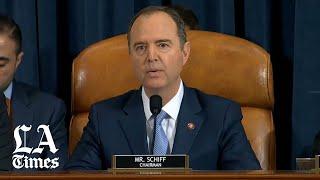 Rep. Adam B. Schiff's opening statement on day 2 of Trump impeachment inquiry