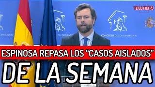 💥BRUTAL💥 CASOS AISLADOS de la semana contados por IVÁN ESPINOSA DE LOS MONTEROS