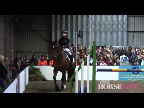 Ben Hobday demonstration   Your Horse Live 2014