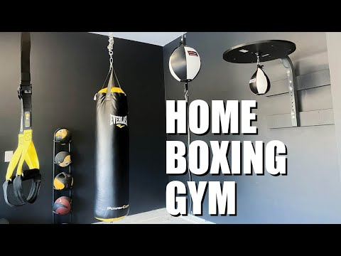 GARAGE PLANS AND LAYOUT | HOME BOXING GYM SETUP