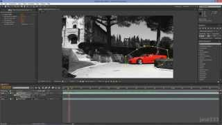 After Effects Tutorial: Sin City Effect