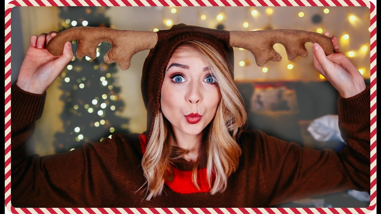 Christmas Jumper Haul | Zoella - YouTube