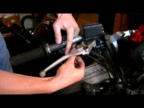 Fixing a sticky/loose motorcycle throttle - YouTube