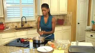 Lemon Chicken and Cinnamon Glazed Root Vegetables