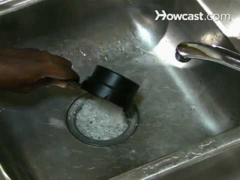 how to safely clean a garbage disposal youtube. Black Bedroom Furniture Sets. Home Design Ideas