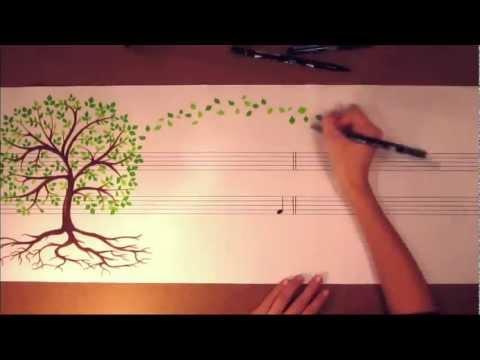 Clip kể chuyện bằng vẽ tranh và âm nhạc ấn tượng không thể bỏ qua