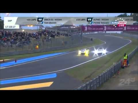24 Hours of Le Mans Oliver Jarvis Puncture and Spins73