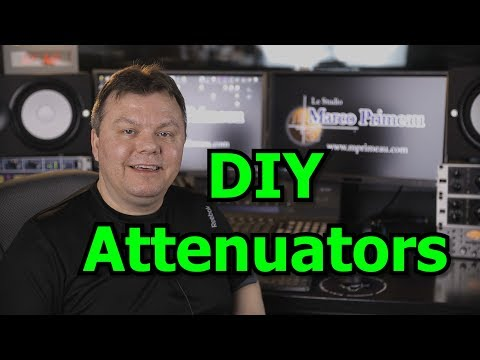 DIY Audio Attenuators Part 1 : The Build