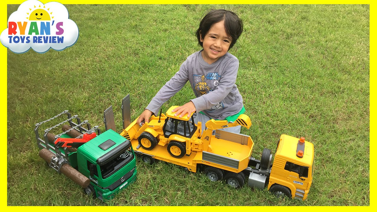 Construction Vehicles Toys Videos For Kids Youtube