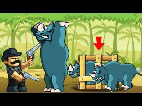 NEW ANIMAL RHINO 3000!! | Lumber Whack #10 - [Mobile Games]