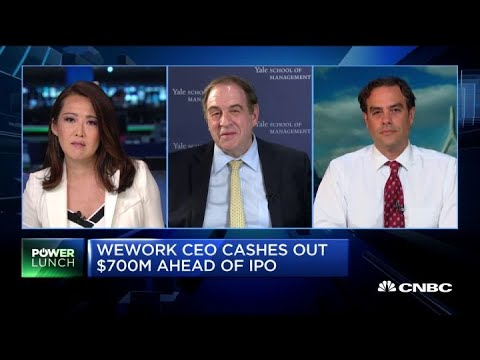 There's a lot to worry about with WeWork, says leadership expert