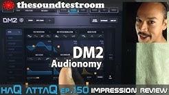 DM2 Drum Machine for iPad by Audionomy │ Impression Review - haQ attaQ 150