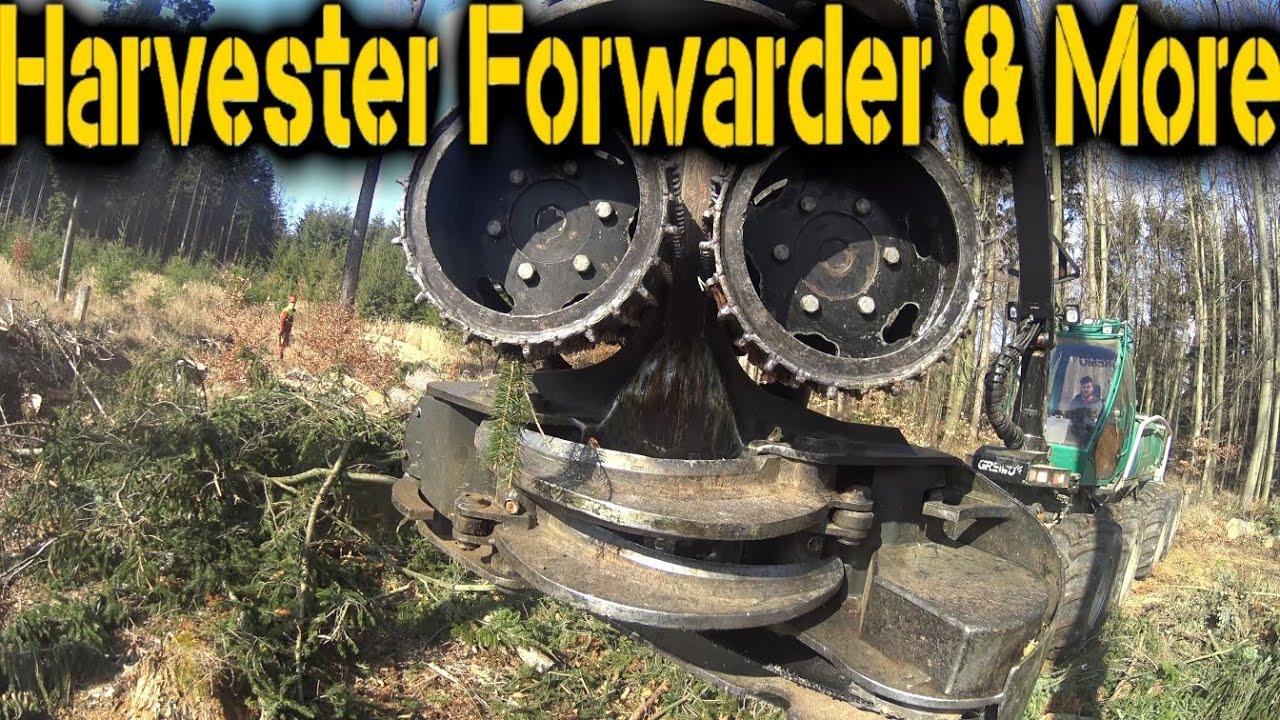 Silvatec Sleipner - Big Wood - Cubic Cubic - Harvester Forwarder & More
