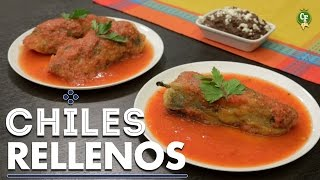 ¿cómo Preparar Chiles Rellenos De Carne Molida? - Cocina Fresca