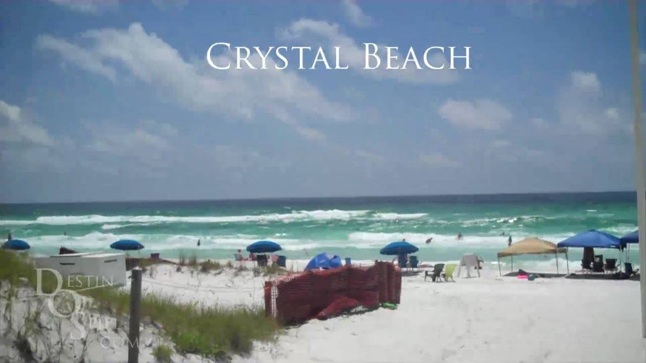 Crystal Beach In Destin, Florida