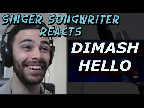 Hello - Dimash Kudaibergen  Singer Songwriter Reacts