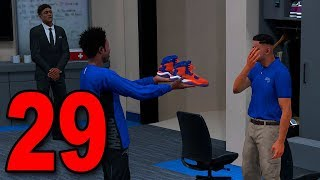 NBA 2K18 My Player Career - Part 29 - NEW SHOES SURPRISE!