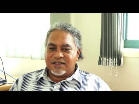 Tuvalu government officer spoke.wmv