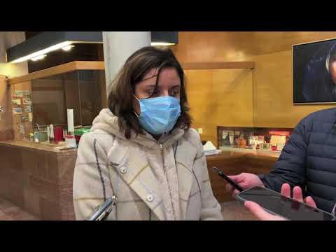 VÍDEO Beatriz Polledo pide una ambulancia para Cangas de Onís
