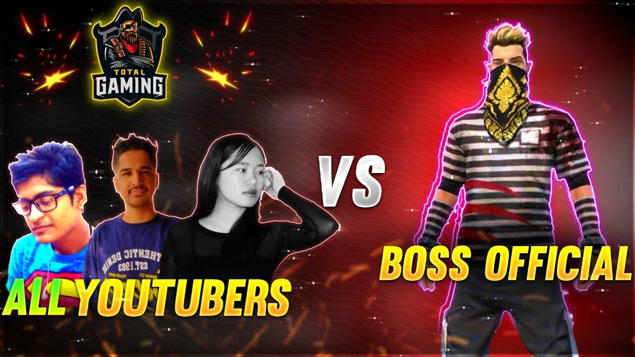 SK SABIR BOSS vs AJJU BHAI vs GYANSUJAN vs ALL YOUTUBERS 🇮🇳♥️ Why they call us boss?