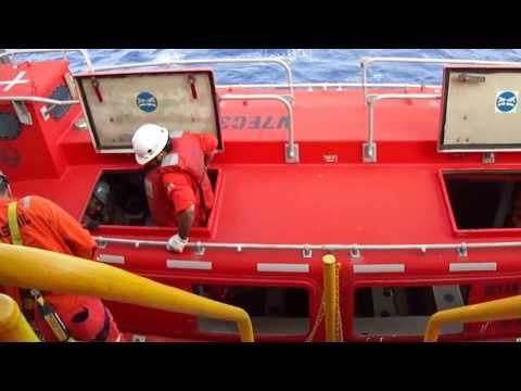 manutencao baleeira - rig move - plataforma ss52 ocean whittington - 02 de maio 2012
