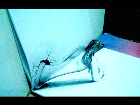 C mo hacer dibujos en 3d como dibujar una ilusi n - Como decorar un dibujo de una castana ...