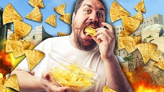 EATING CHIPS TROLL ON CALL OF DUTY Black Ops 2 Trolling