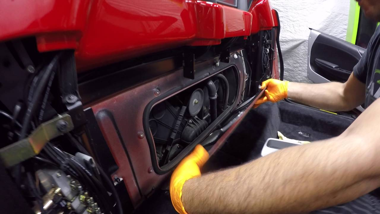 When To Change Timing Belt >> Ferrari 360 Timing Belt Replacement - YouTube