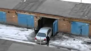прикол заезд в гараж