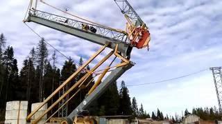 видео Аренда башенных кранов Potain