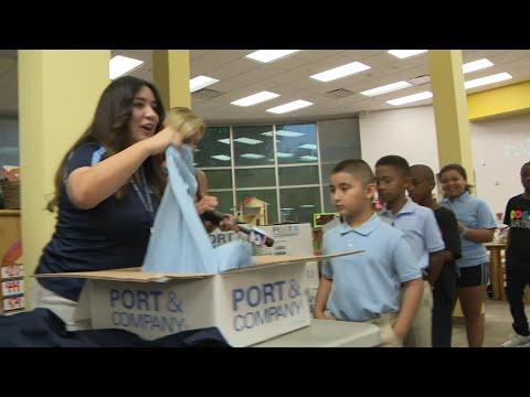 KPRC 2 adopts Dogan Elementary School