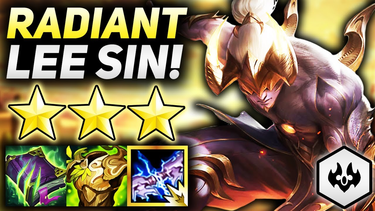 RADIANT SPARK 3 STAR LEE SIN IS THE BEST FRONTLINE CARRY!!   Teamfight Tactics Patch 11.15