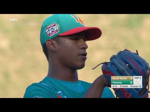 LLBWS 2016 - Game 23 -  AP vs LA   Seoul South Korea vs  Aguadulce Panama - #LLWS16