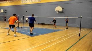 Bon match de badminton à l