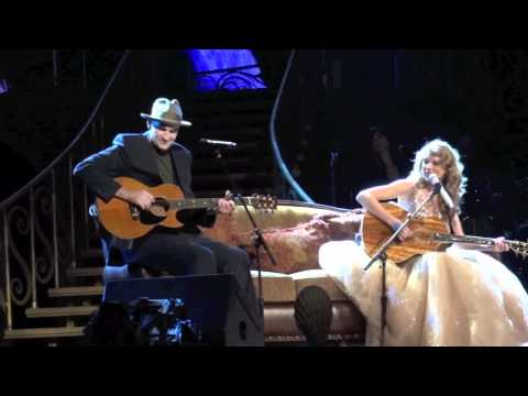 Taylor Swift James Taylor Fire and Rain New York City Madison Square Garden