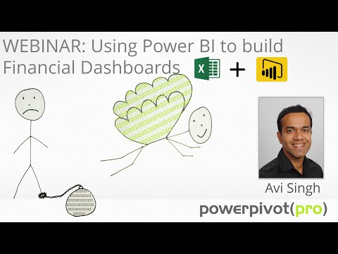 Power BI Finance Dashboards (Webinar Recording)