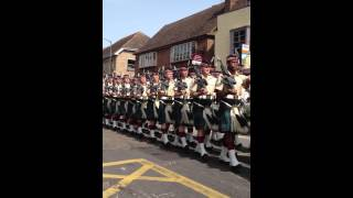 Argyll and Sutherland Highlanders 25th June 2013 Canterbury
