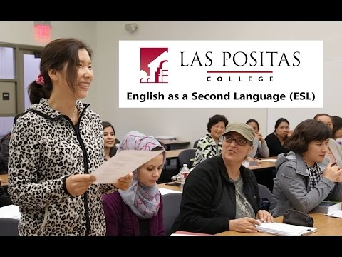Take English as a Second Language (ESL) at Las Positas College