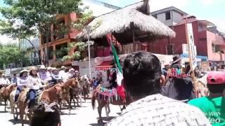 La Cabalgata En Palenque Chiapas, México /30/07/2016/