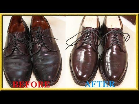[ASMR] Clean & restore 'Alden' 990 Cordovan color 8 -VeTiVeR