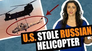 US Army Night Stalkers stole advanced Russian helicopter