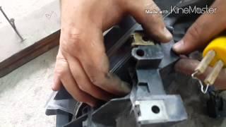 быстрый ремонт крепления фары