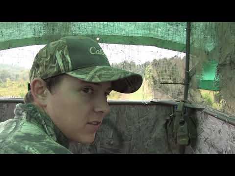 Whitetail Deer Hunt SC   Daniel Drops His Streak Of Not Pulling The Trigger!