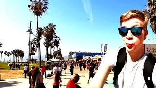 Ab nach LOS ANGELES - Mit den Jungs in Venice Beach!