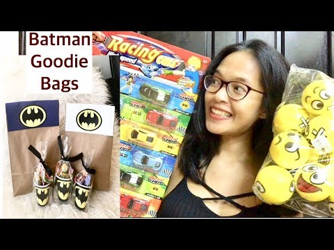 DIY Affordable GOODIE BAGS | Birthday PARTY LOOT Bags