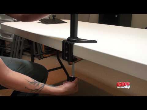 Gator Cases - Desk Mount ARM 360 Setup Instructions