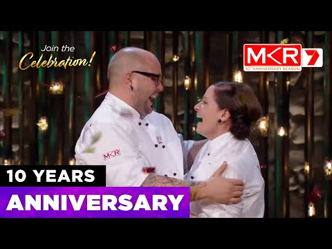 10 Years Of My Kitchen Rules Champions | MKR 10th Anniversary