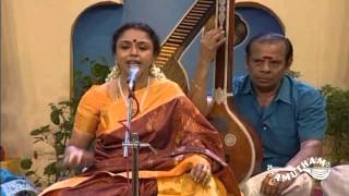 Chinnan Chiru Kiliye -Sudha Raghunathan -The concert