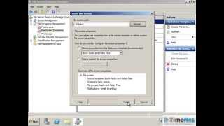 How to configure File Server Resource Manager on Windows Server 2008 R2?