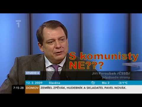 Paroubek lže o komunistech